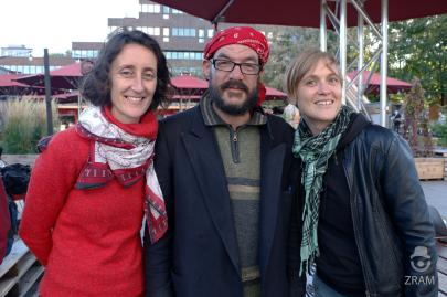 Marie (ethnographe), Christian (participant Dessine-Moi Gamelin), Marie-Claude (ethnographe)